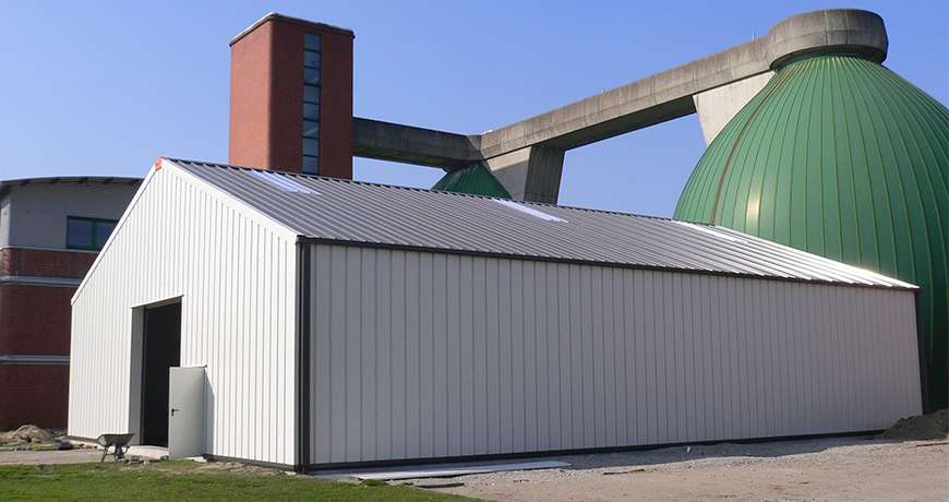 metal hall industrial